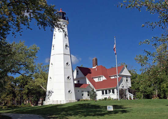 North Point Lighthouse is a must see.