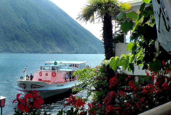 Travelers can see Switzerland in a new way with boat tours.