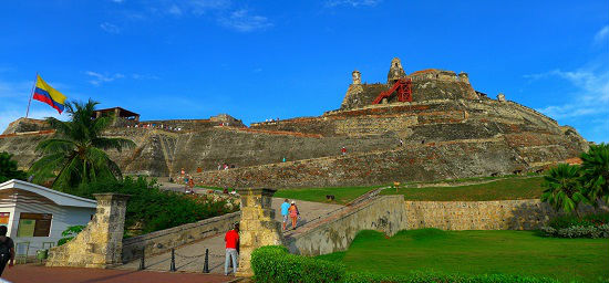 The massive Castillo San Felipe overlooks the city. Photo by Bob Schulman
