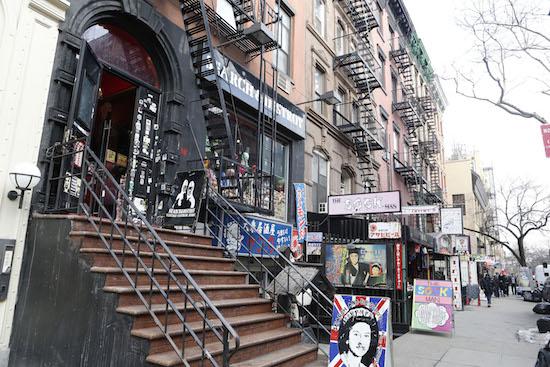 St Marks Place, East Village, Manhattan