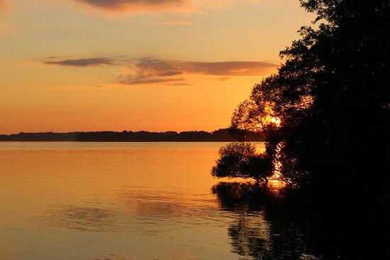 11 PM sunset near Stockholm. Photo by Ben Rader
