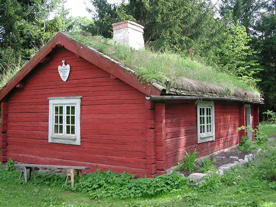 Skansen is home to more than 100 historic Swedish homes.