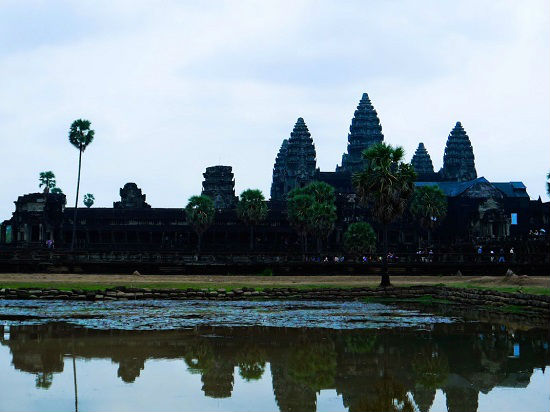 Angkor Wat is a popular destination for travelers.