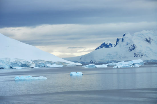Antarctica is an icy land of breathtaking sights.