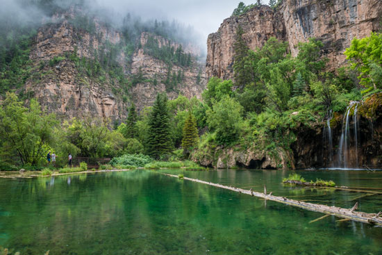 Hiking to Hanging Lake is a popular summer activity in Glenwood Springs. Photo courtesy VisitGlenwood