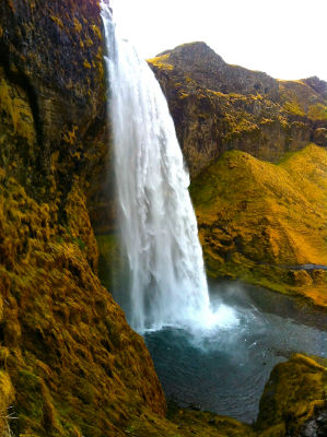Each waterfall in Iceland has a sort of personality.