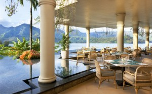 The Makana Terrace at St. Regis Princeville. Photo courtesy St. Regis Princeville