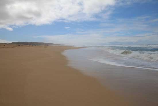 Polihale Beach is Hawaii's longest beach. Photo by Carrie Dow