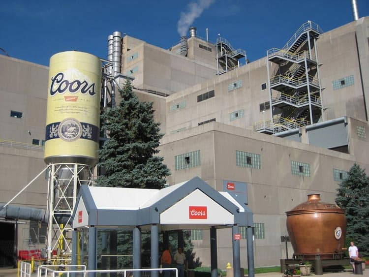 Take a brewery tour at Coors Brewery in Golden, Colorado