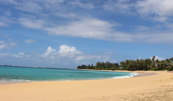 Haena Beach on the North Shore. Photo by Janna Graber