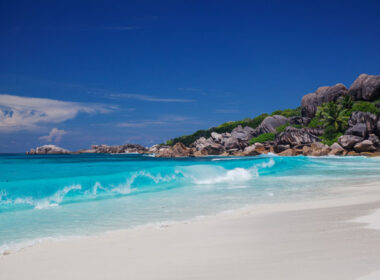 Fregate Island in the Seychelles