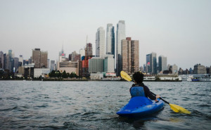 Small Boat, Big City: Kayaking New York Harbor