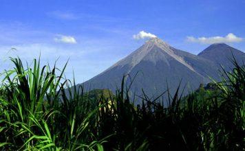 Hiking volcano in Guatemala