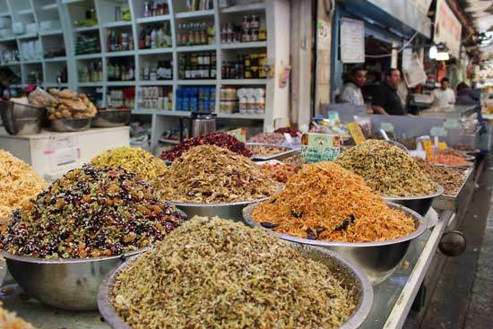 Israeli dishes use many exotic spices. Photo by Janna Graber