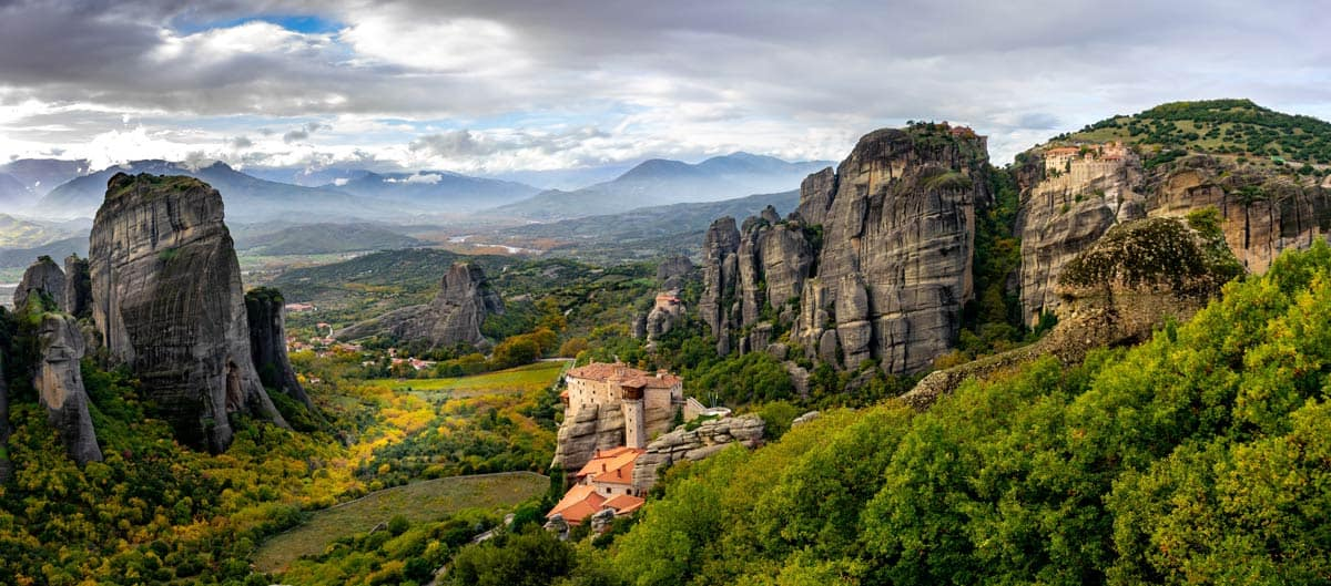 Land in the Clouds: Greece's Meteora Monasteries