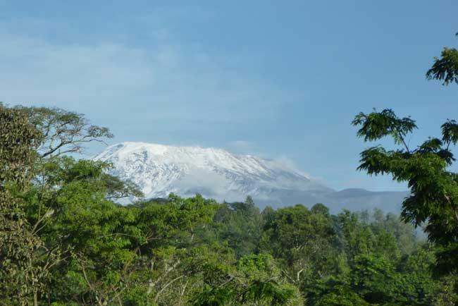 Mt. Kilimanjaro in the distance. Flickr/ActiveSteve