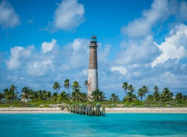 Lighthouse in Dry Tortugas.