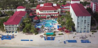 Breezes Resort and Spa offers relaxing stays.
