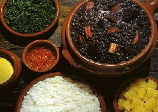 Feijoada is a typical Portuguese dish.
