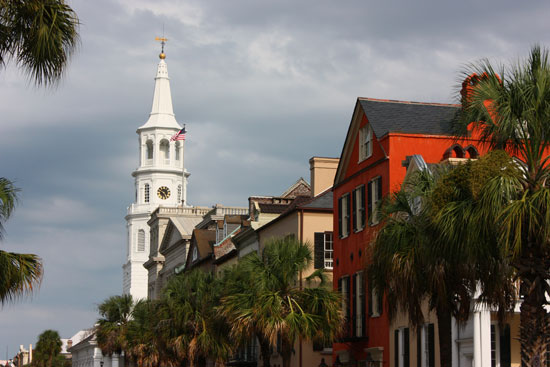 Travel to Charleston, South Carolina