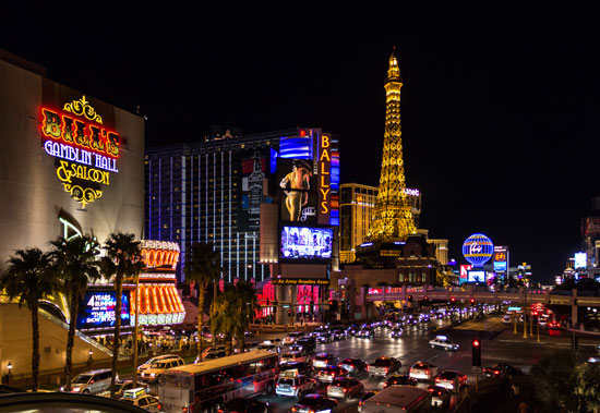 Travel in Las Vegas