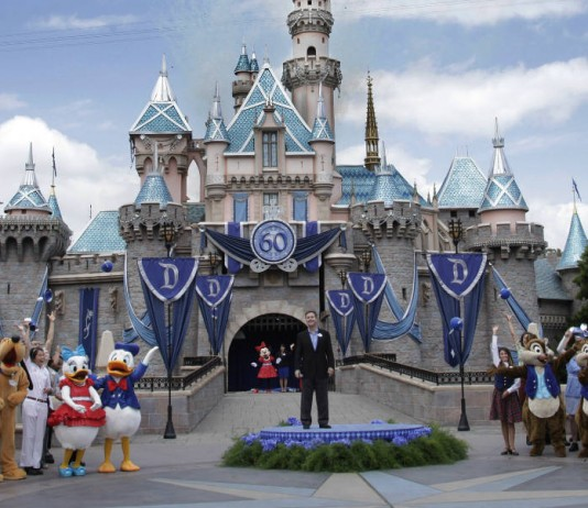 Disneyland opened in 1955.