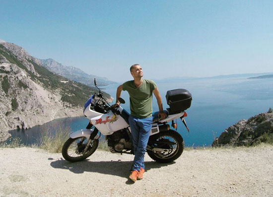 Jacob Laukaitis rode some 8000km through the Balkans
