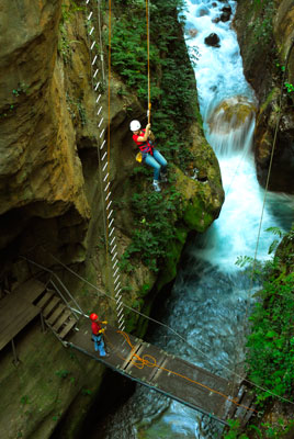 Adventure lovers are in their element.