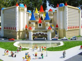 There are some 30,000 LEGO® models throughout LEGOLAND® California Resort created out of more than 60 million LEGO bricks. Photo courtesy LEGOLAND California
