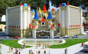 There are some 30,000 LEGO® models throughout LEGOLAND® California Resort created out of more than 60 million LEGO bricks. Photo courtesy LEGOLAND California