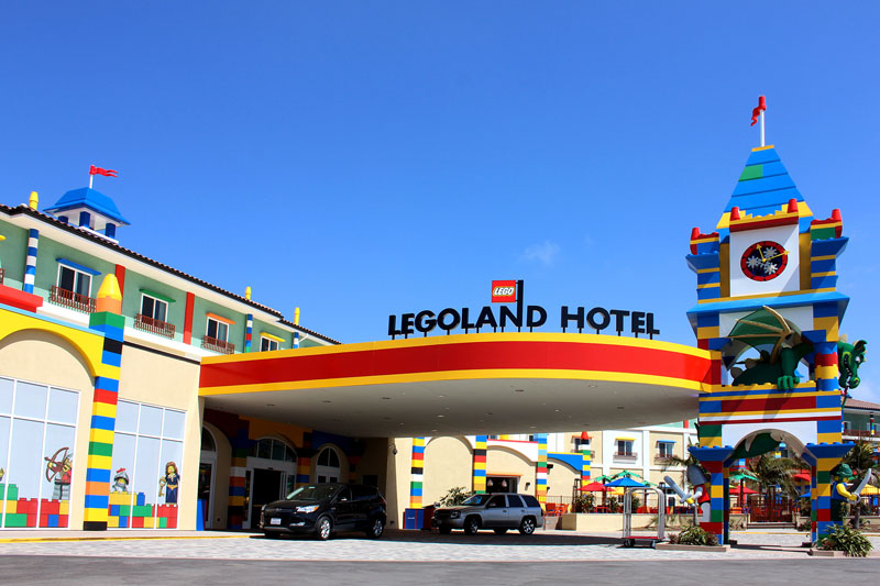 LEGOLAND Hotel at LEGOLAND California is fun for the whole family. Photo courtesy LEGOLAND California
