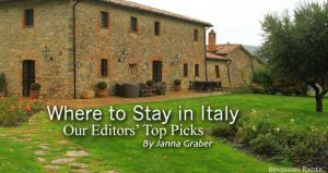 Where to Stay in Italy: Our Editors' Top Picks