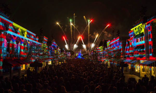 The show uses mapping technology to create new special effects.