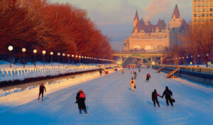 Ottawa Winter: Skating on the Rideau Canal