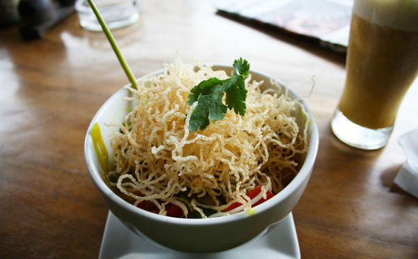 Ubud is a great place to try different foods.