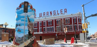 Cheyenne, Wyoming is known for its western past, but it also has its own blend of holiday charm. Photo by Janna Graber