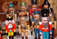 Nutcracker from the Erzgebirge mountains at the Christmas market. Photo by GNTO