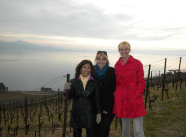Travel blogger Janna Graber in Switzerland