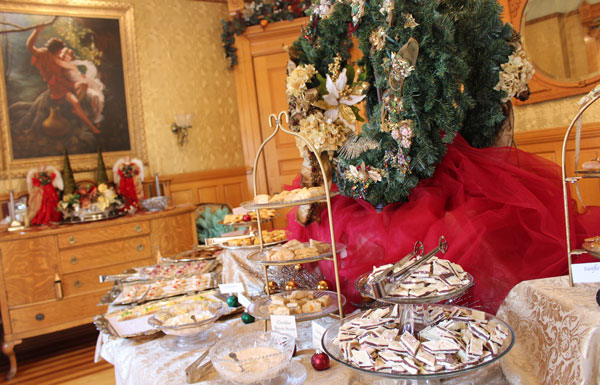 The Holiday Tea at the Nagle Warren Mansion is quite an event. Photo by Janna Graber