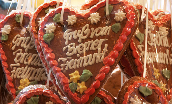 Lebkuchen (gingerbread) from the town of Bremen. Photo by GNTO
