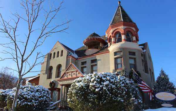 The Nagle Warren Mansion Bed & Breakfast was built in 1888. Photo by Janna Graber