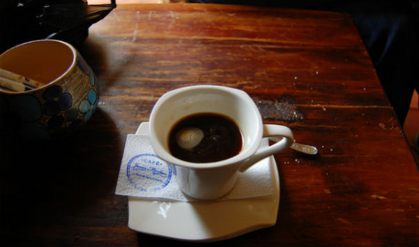 Instant coffee is the norm for locals in Salento.