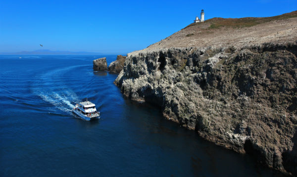 Travel in California Channel Islands