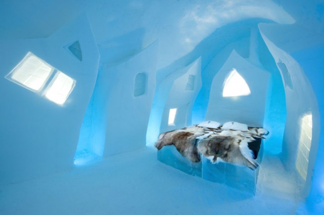 ICEHOTEL Art Suite 2016. Cesare´s Wake by Petros Dermatas and Ellie Souti.