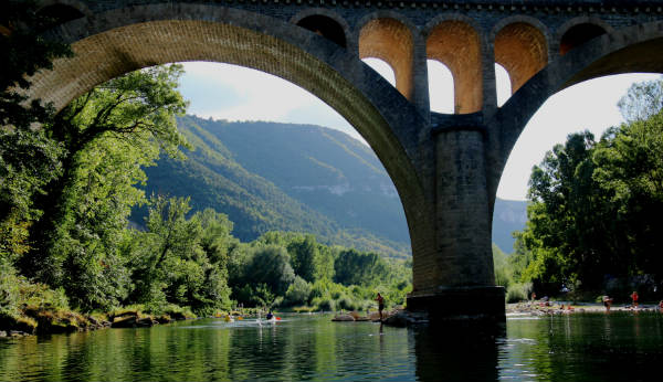 Rafting the rivers of France provides a uniqe view of it's many architectural wonders. that can be seen by river.