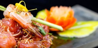 A tasty shrimp dish at Aloy Modern Thai. Photo courtesy Aloy Modern Thai