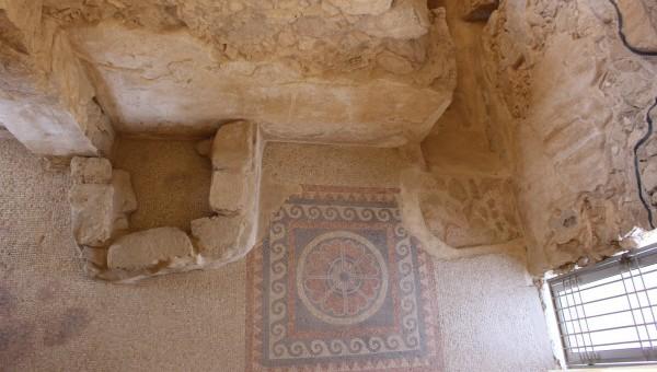 The floor at Masada.