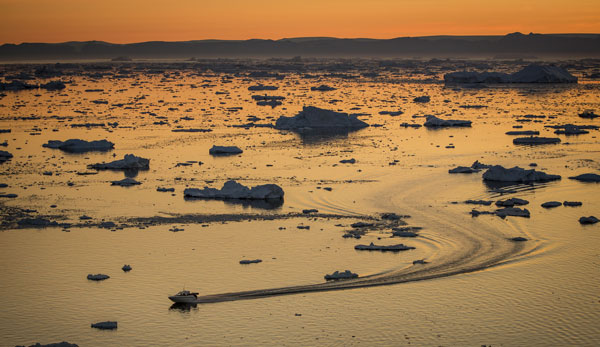 Greenland is a melting Arctic wonder. Photo courtesy VisitGreenland.com