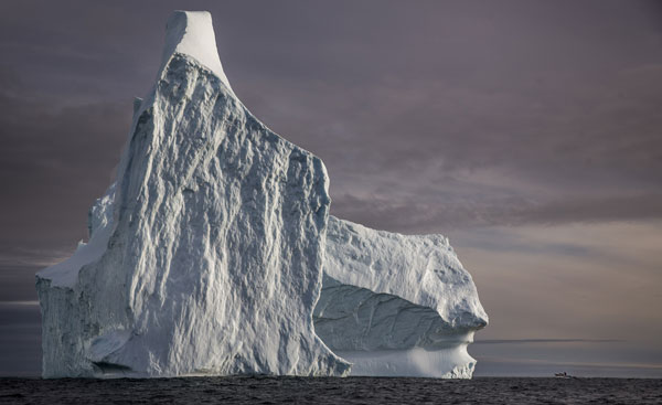 Seeing the icebergs of Greenland up close was an amazing experience. Photo courtesy VisitGreenland.com
