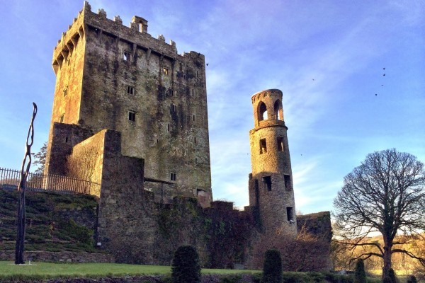 Blarney Castle is a famous stop in Ireland.